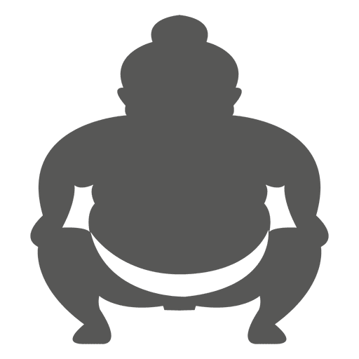 Japanese sumo icon Transparent PNG