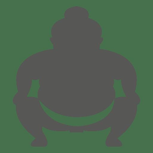 Japanese sumo icon