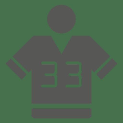 Jersey icono plano