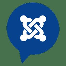 Joomla bubble icon