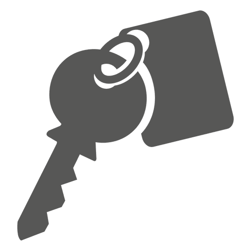 Key with tag icon - Transparent PNG & SVG vector