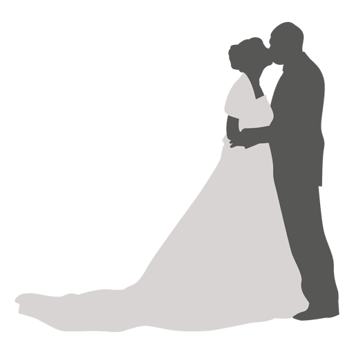 Kissing wedding couple silhouette transparent png svg vector kissing wedding couple silhouette transparent png junglespirit Gallery