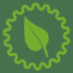 Icono de rueda de hoja
