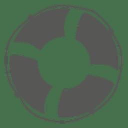 Lifesaver buoy icon