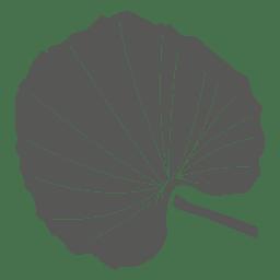 Linden line stroke leaf