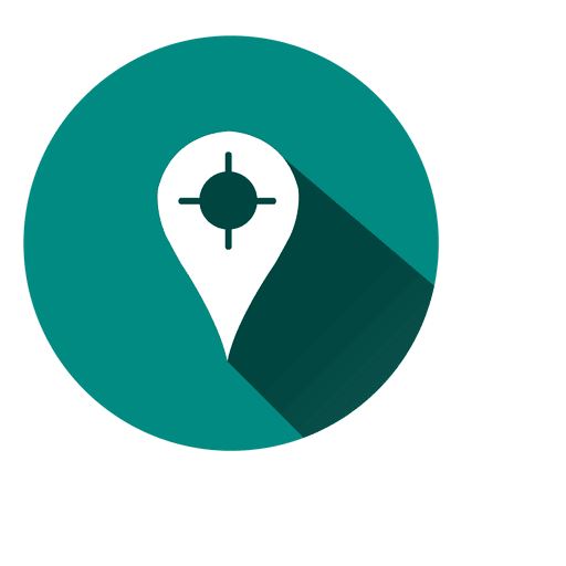 Location marker circle icon 4 - Transparent PNG & SVG ...