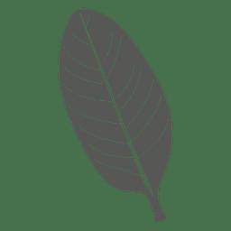 Locust line stroke leaf