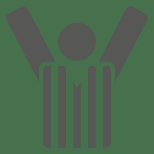Ícone de camisa de manga comprida