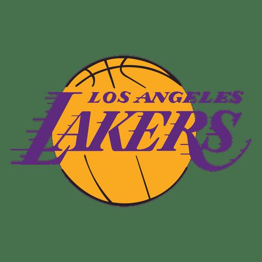 Logo de los angeles lakers