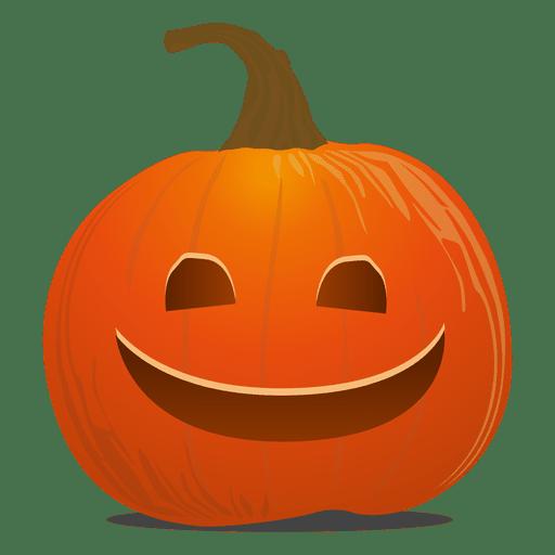 Emoticon de abóbora Transparent PNG