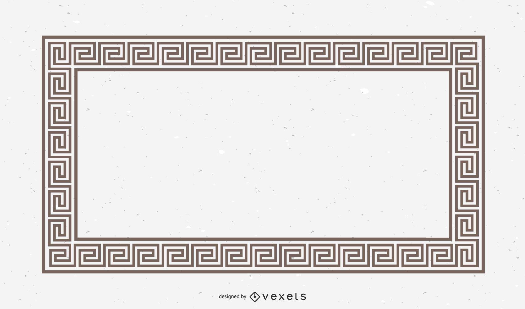 Horizontal Greek Design