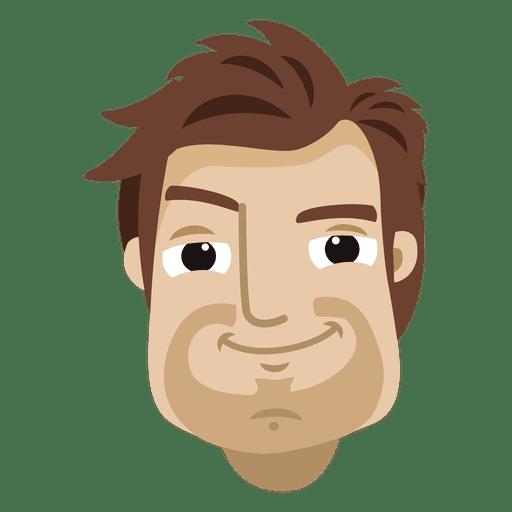 Man cartoon head