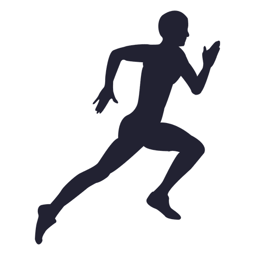 Man running silhouette 16 - Transparent PNG & SVG vector