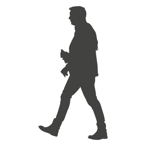People Silhouette Walking Png | www.pixshark.com - Images ...