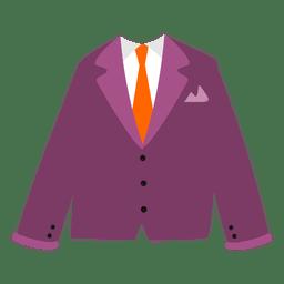 Maroon men's blazer