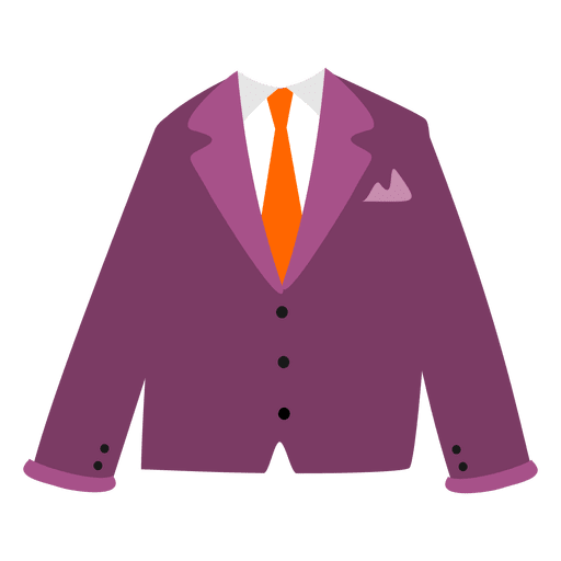 Maroon men's blazer Transparent PNG