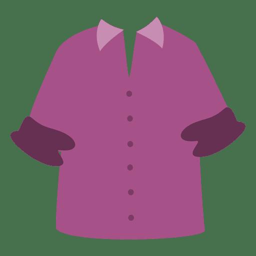 Maroon men shirt cartoon Transparent PNG