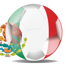 Mexico flag ball
