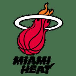 Logotipo del calor de Miami