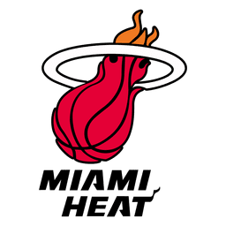Logotipo do calor de Miami