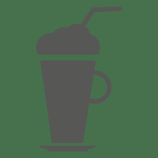 Icono de bebida batido de leche Transparent PNG