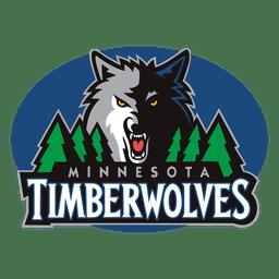Logotipo de los lobos de madera de Minnesota