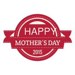 Mothers day 2015 label