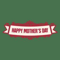 Insignia de cinta del día de la madre 2