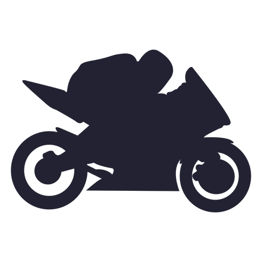 Motocross racing sport silhouette Transparent PNG