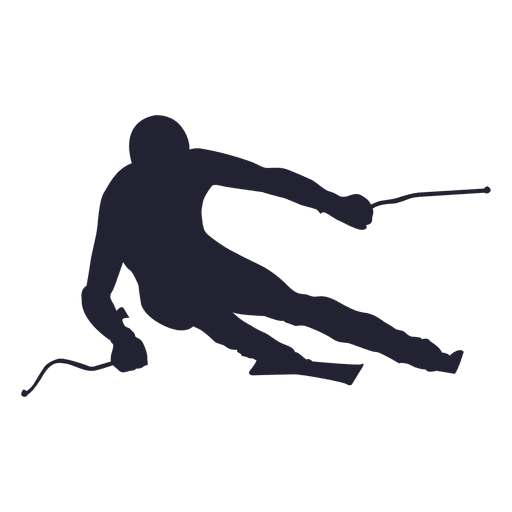 Mountain climber silhouette 4 Transparent PNG