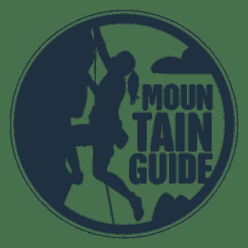 Insignia de montaña Transparent PNG