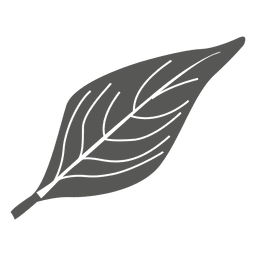 Mulberry line style leaf