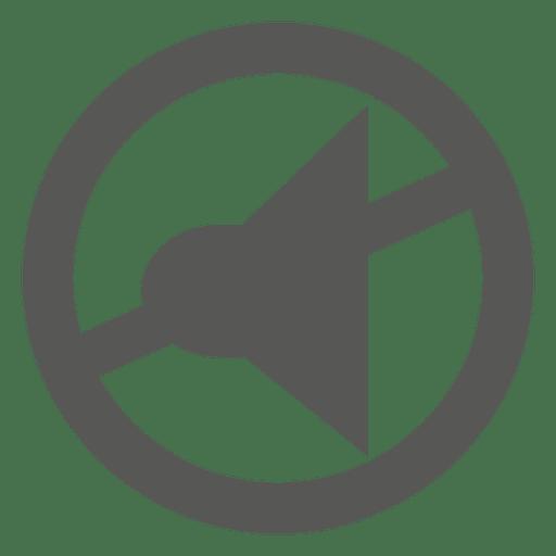 Ícone de microfone desativado Transparent PNG