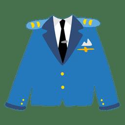 Chaqueta oficial de la marina
