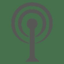 Icono de la torre wifi