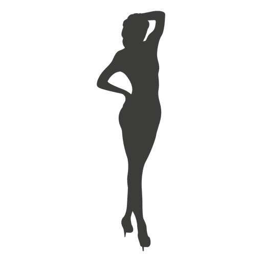 Nude female silhouette Transparent PNG