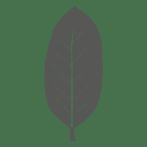 Oblong line style leaf