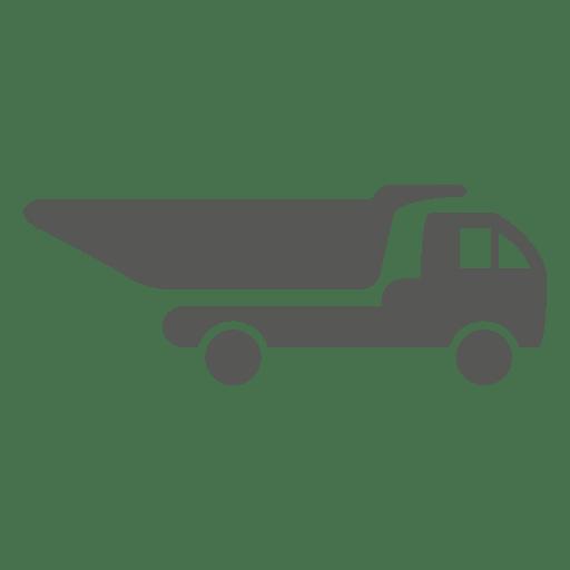 Fora, caminhão estrada, ícone Transparent PNG