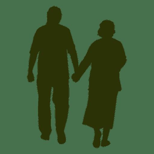 Silhueta de casal Transparent PNG