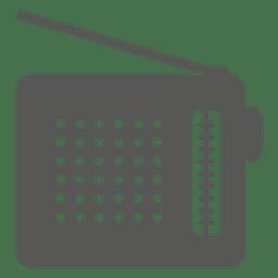 Ícone de rádio velho