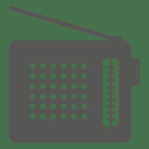 Icono de radio antiguo