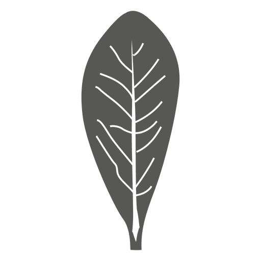 Olive line style leaf