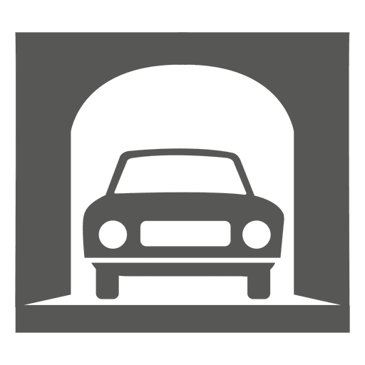 One vehicle entrance structure sign Transparent PNG