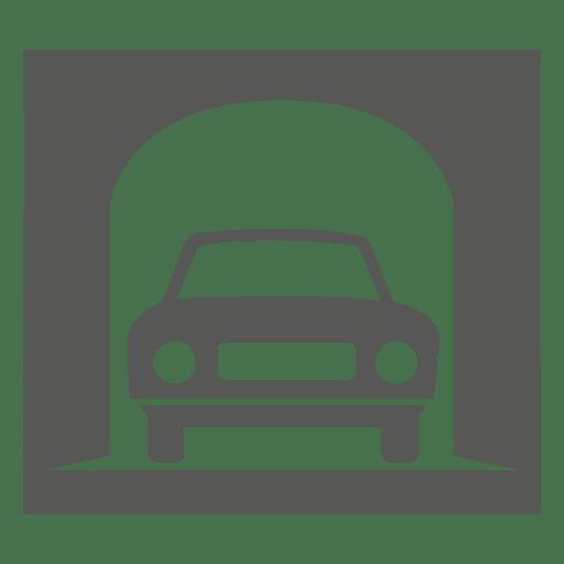 Señal de estructura de entrada de un vehículo. Transparent PNG