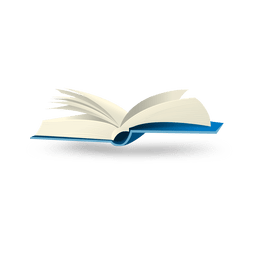 Open book bubble icon
