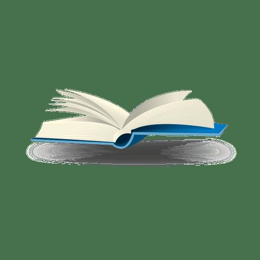 Open book bubble icon