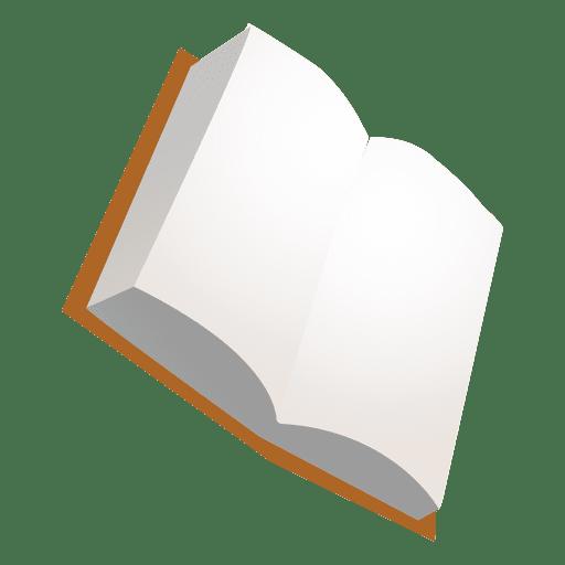 Libro abierto Transparent PNG