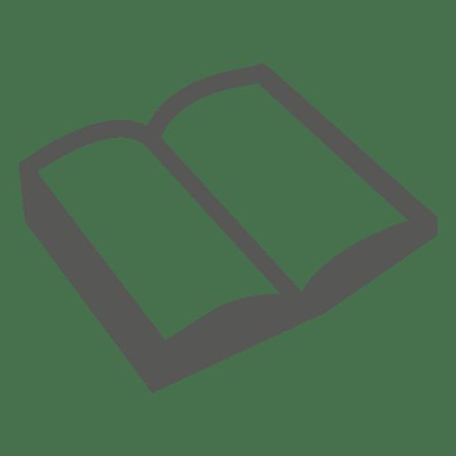 Icono de libro abierto
