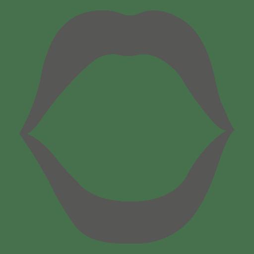 Geöffnete Lippen Transparent PNG