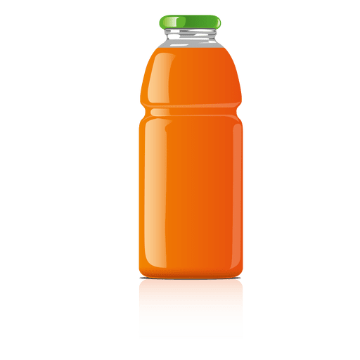 Orange glass jar png